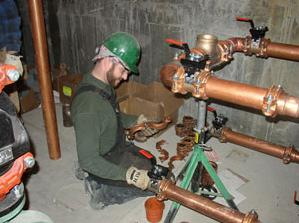 Our Homestead Plumbing Team Do Commercial Repiping